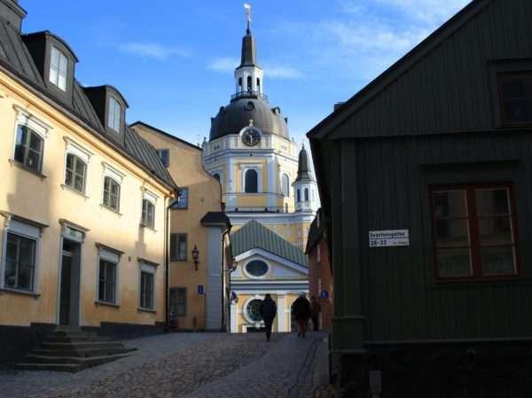 Quartiere Sodermalm Case in legno Stoccolma