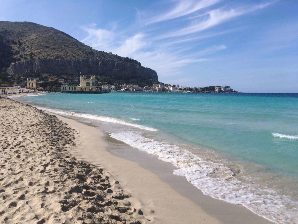Spiaggia Mare Mondello Palermo